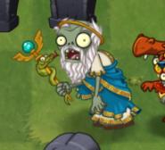 Healer Zombie In-game