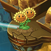 Twin Sunflower on 1.7