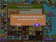 Lily Pad Warning Dialog