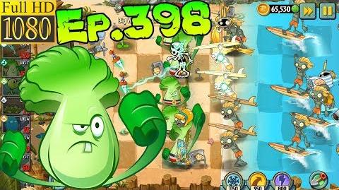 Plants vs. Zombies 2 Last Stand level - Big Wave Beach Day 12 (Ep