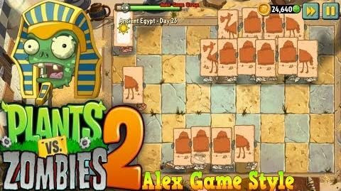 Plants vs. Zombies 2 Match symbols to destroy the zombies Ancient Egypt Day 23 (Ep