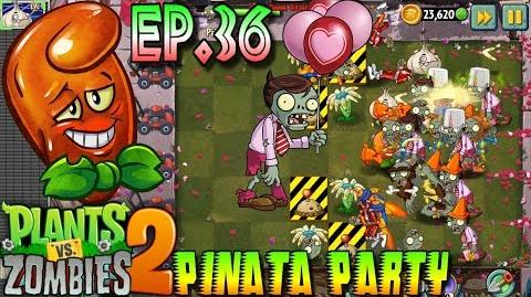 Plants vs. Zombies 2 Pinata Party 9 2 2018 Hot Date Premium Plant - Valenbrainz (Ep