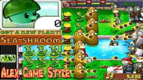 Plants vs. Zombies Adventure Got a Sea-shroom level 3-10 Pool (Android Gameplay HD) Ep