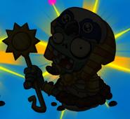 Ra Zombie silhouette