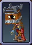 Cart-Head Zombie Icon