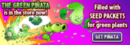 The Green Piñata Main Menu