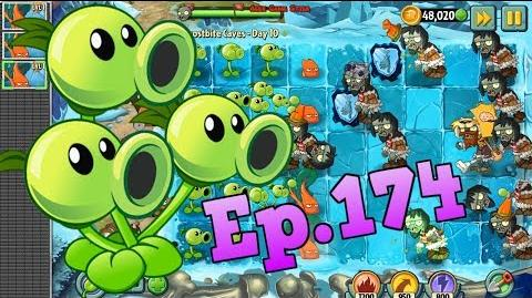 Plants vs. Zombies 2 Frostbite Caves Day 10 (Ep