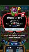Shroom for Two stats