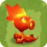 Fire Peashooter (PvZ3)