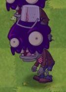 Poisoned Big Brainz Buckethead Zombie