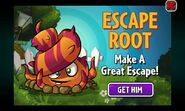 Ad for Escape Root