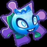 Electric Blueberry Puzzle Piece
