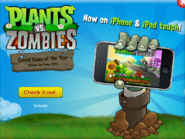 Plantsvs.ZombiesiPhoneAdvertisement