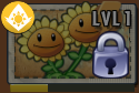 Twin Sunflower Locked