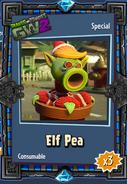 Elf Pea Sticker