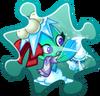 Missile Toe Costume Puzzle Piece