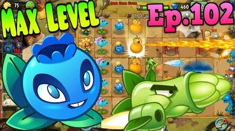 Plants vs. Zombies 2 (China) - Electric Blueberry MAX 4 Level - Kung-Fu World Day 16 (Ep
