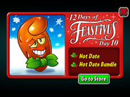 12 Days of Feastivus 2019 Day 10 Hot Date