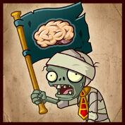 PvZ2 Flag Mummy Zombie
