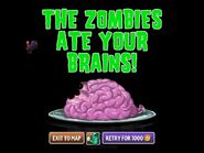 Zombie turkey eat