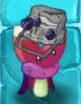 Cave Buckethead Magnet-shroom