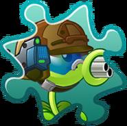 Gatling Pea Costume Puzzle Piece