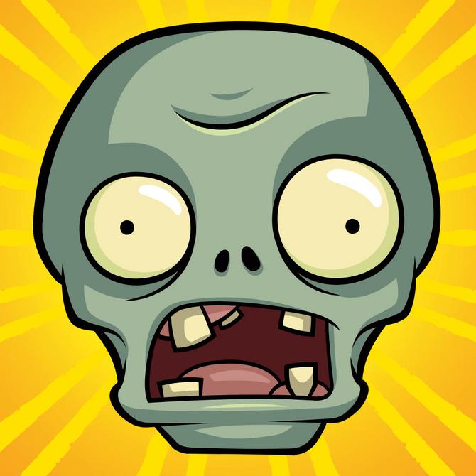 Plants vs Zombies Stickers