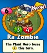 Receiving Ra Zombie