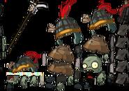 Bowl Sergeant Zombie