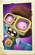 Disco Zombie PvZ3 portrait