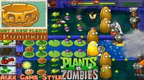 Plants vs. Zombies Adventure Got a Pumpkin level 4-7 Fog (Android Gameplay HD) Ep