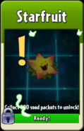 Starfruit about to be unlocked
