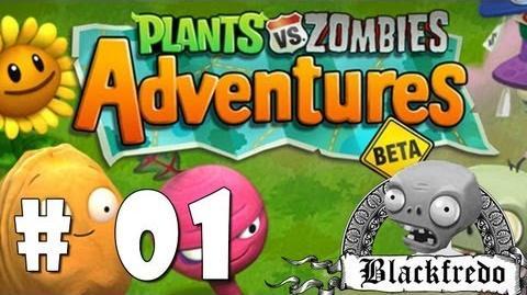 Let's Play Plants Vs Zombies Adventure 01 Español Spanish