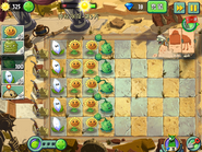 Nicko756 - PvZ2 Chinese - Ancient Egypt - Day 7 - 001