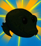 Guacodile silhouette