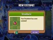 Getting Straw-burst First Costume