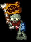 Jurassic Flag Zombie