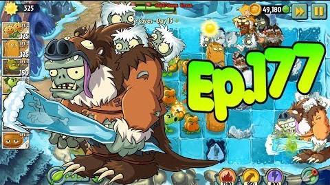Plants vs. Zombies 2 New Sloth Gargantuar - Frostbite Caves Day 13 (Ep