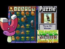 Plants vs. Zombies Three Hit Wonder Puzzle Classic PC HD (Ep