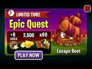 Epic Quest - Escape Root