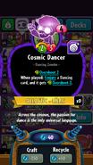 CosmicDancerStats