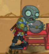 Hypnotized Nunchaku Zombie