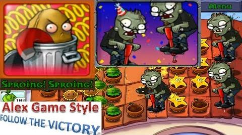 Plants vs. Zombies - Achievement - Sproing! Sproing! Pogo Party (Android HD) Ep