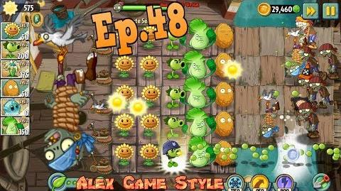 Plants vs. Zombies 2 New Seagull Zombie Pirate Seas Day 2 (Ep
