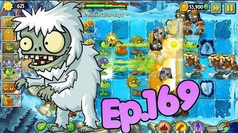 Plants vs. Zombies 2 New Yeti Imp Zombie - Frostbite Caves Day 7 (Ep