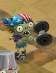 Weightlifter Zombie in the game