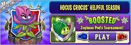 Hocus Crocus' Helpful Season - Zoybean Pod's BOOSTED Tournament