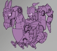 Zombot Dark Dragon Concept Art