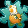 Citron Costume Puzzle Piece