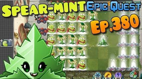 Plants vs. Zombies 2 - SPEAR-MINT - Quest, Max level Quest (Ep